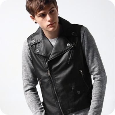 Fashion Vests  on Stylish Leather Vests